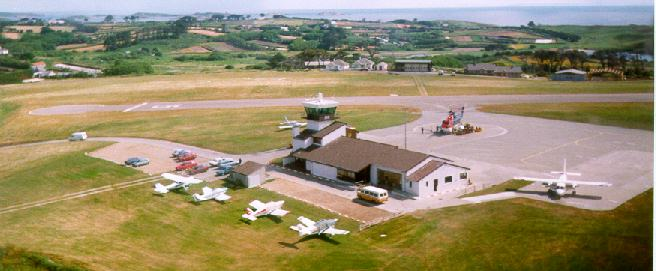 St Mary's airfield